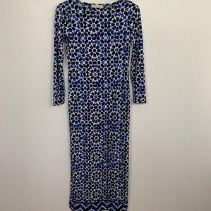 Michael Kors Maxi Dress Long Sleeve Sz: XS